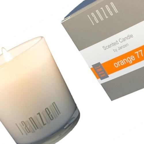 janzen parfumkaars orange 77